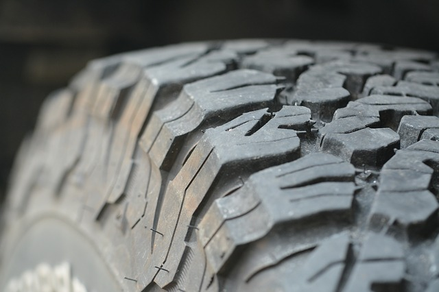 a close up of a tyre